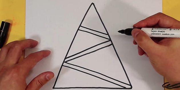 12 sposob v namalyuvati yalinku z yakimi vpora t sya nav t ditina 20 - 12 способів намалювати ялинку, з якими впорається навіть дитина