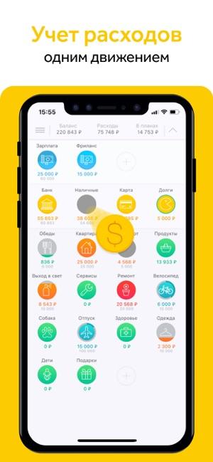5 iphone dodatk v dlya vedennya f nans v 2 - 5 iPhone-додатків для ведення фінансів