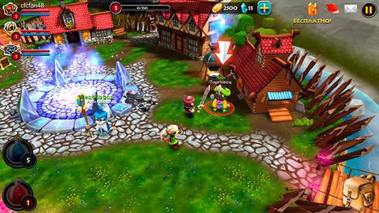 elements epic heroes dlya ios velik bitvi malen kih vo n v 1 - Elements: Epic Heroes для iOS — великі битви маленьких воїнів