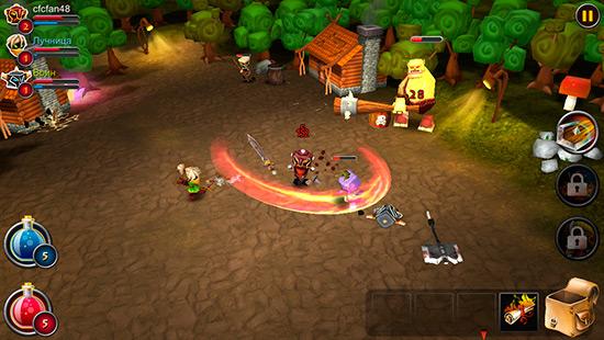 elements epic heroes dlya ios velik bitvi malen kih vo n v 3 - Elements: Epic Heroes для iOS — великі битви маленьких воїнів