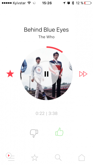 musicsense dlya ios bezkoshtovniy potokoviy serv s z nalashtovanim pleylistami ne t l ki 3 - MusicSense для iOS — безкоштовний потоковий сервіс з налаштованим плейлистами і не тільки