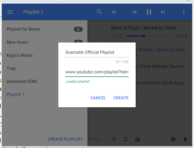 streamus rozshirennya yake peretvoryu youtube v povnoc nniy muzichniy serv s 4 - Streamus — розширення, яке перетворює YouTube в повноцінний музичний сервіс